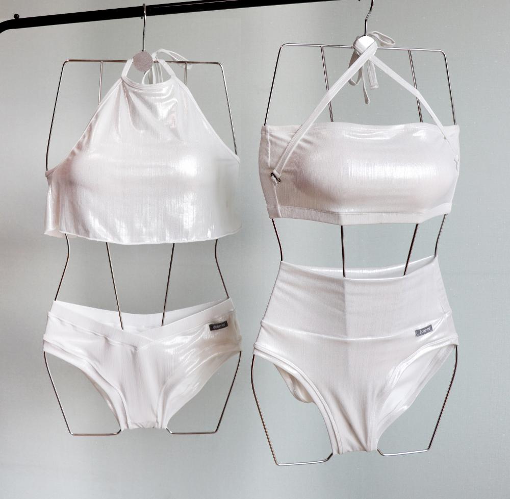 Swimwear/underwear gray color image-S7L5
