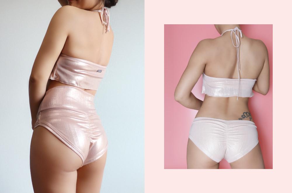 Swimwear/underwear model wearing image-S7L21